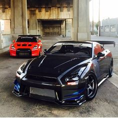 nissan gt-r. i want this car so badly. :<
