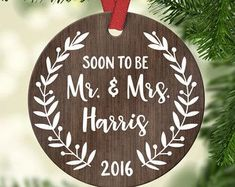 Personalized Wedding Gift First Christmas Ornament Married Wedding Gifts for Couple Wedding Christmas Ornament Wedding Ornament Custom First Christmas Together Ornament, Wedding Christmas Ornaments, Couples Christmas Ornament, Christmas Gifts For Couples, Wedding Ornament, Christmas Gift Baskets, Christmas Couple, Personalized Christmas Ornaments, Christmas Bells