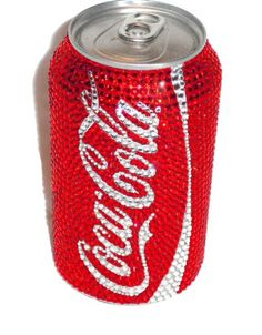 Swarovski crystal classic coke can    NEED THIS IN DIET COKE! YUMM
