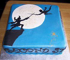 SILHOUETTE CAKE! LOVE!