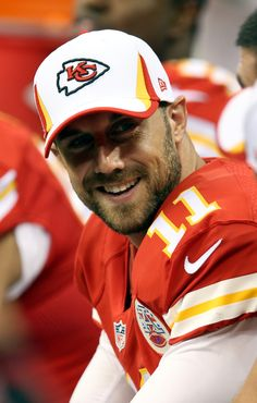 Aug 9, 2013; New Orleans, LA, USA; Kansas City Chiefs quarterback Alex Smith (11) on the bench during the third quarter of their game against the New Orleans Saints at the Mercedes-Benz Superdome. (2550×4000)