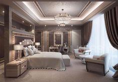 Luxury properties in Marbella - Engel & Völkers Marbella Luxury Bedroom Design, Bedroom Furniture Design, Luxury Apartments, Luxury Homes, Dream Home Design, House Design, Aesthetic Room Decor, Beautiful Living Rooms, Luxurious Bedrooms