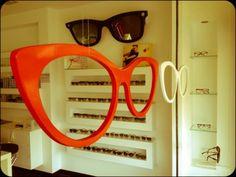 Eyeglasses for window display