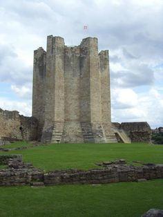 Conisborough Castle in Doncaster