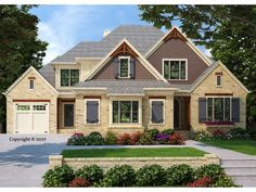 086H-0065: Luxury House Plan with Open Floor Plan