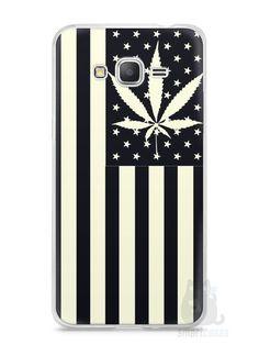 Capa Samsung Gran Prime Maconha Bandeira EUA - SmartCases - Acessórios para celulares e tablets :)