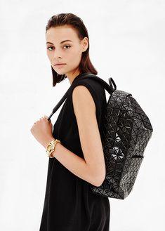 Issey Miyake BAO BAO Black Backpack