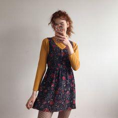 11b47bcff04 Adorable vintage corduroy mini pinafore dress. Prettiest on - Depop  Corduroy