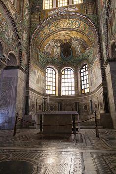 Apse of San Vitale - Italy