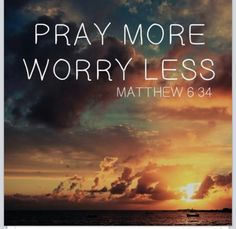 """""""Keep on, then, seeking first the Kingdom and his righteousness, and all these other things will be added to you. So never be anxious about the next day, for the next day will have its own anxieties. Each day has enough of its own troubles."""" - Matthew 6:33, 34"""