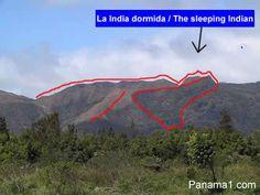 La India Dormida, El Valle de Anton