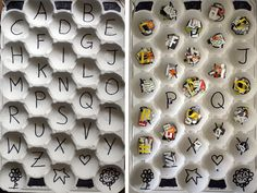 Learning the alphabet cutting letters and sort them. Alphabet Activities, Craft Activities For Kids, Kindergarten Activities, Toddler Activities, Crafts For Kids, Learning The Alphabet, Fun Learning, Learning Activities, Teaching Kids