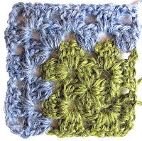 "Odd Crochet Patterns: Granny square with off-center - ""Not in the middle"" - granny"