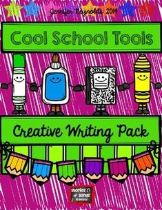 Book companion pack for The Crayon Box That Talked, Harold and the Purple Crayon, or The Day The Crayons Quit! Lots of different prompt pages that can be combined into a booklet for your students to write and illustrate about their favorite school tool! Kindergarten Writing, Teaching Writing, Writing Activities, Teaching Resources, Cause And Effect Activities, Persuasive Letter, Too Cool For School, School Stuff, Purple Crayon
