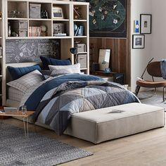 Lounge Around Platform Bed | PBteen