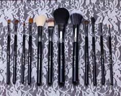 Professional 12pcs Sigma makeup brush set, Make me classy !! Low price high quality from Factory in China.