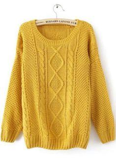 She inside sweater