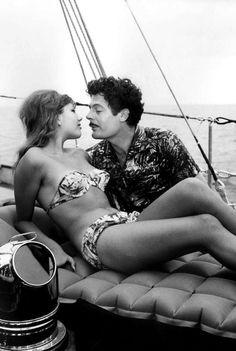 """Stefania Sandrelli & Marcello Mastroianni in """"Divorzio all'italiana"""" (Divorce, Italian Style)"""
