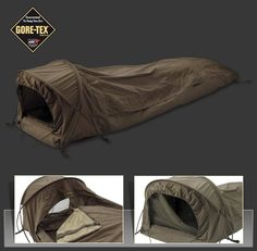 Observer Plus bivy bag, packed 35 X 12 cm
