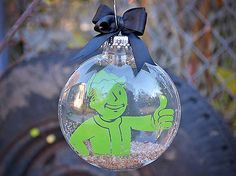 Fallout 4 Pip-Boy Inspired | Christmas Tree Ornament