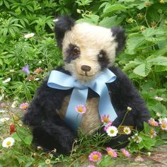Witney Exclusive 1939 Panda Teddy Replica