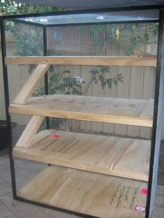 Ferret cage idea