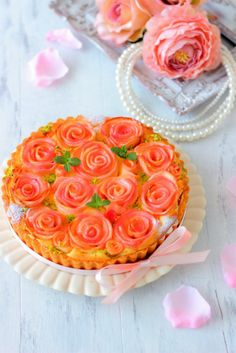 Köstliche Desserts, Dessert Drinks, Delicious Desserts, Yummy Food, Tart Recipes, Sweets Recipes, Japanese Bakery, Dessert Decoration, Sweet Tarts