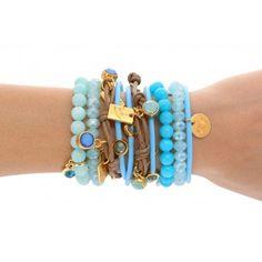 #ByDziubeka bransoletki/bracelets #blue