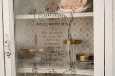 The Polka Dot Closet: A Sweet Little Curio Cabinet