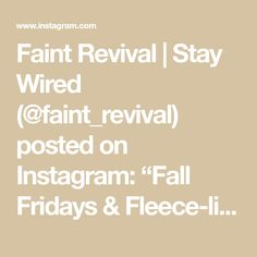 """Faint Revival   Stay Wired (@faint_revival) posted on Instagram: """"Fall Fridays & Fleece-lined Freedom Hoodies 🍂 💯 • #thereisfreedom"""" • Oct 9, 2020 at 8:56pm UTC"""