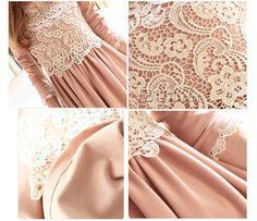Sweet Lace Ruffle Long Sleeve Dresses For Women (BLUE,ONE SIZE) China Wholesale - Sammydress.com
