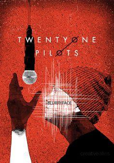 TWENTY+ONE+PILOTS+Poster+by+fourscore+on+CreativeAllies.com