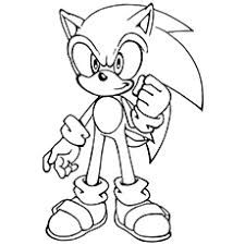 13 Best Sonic Images Hedgehog Colors Coloring Pages For Kids