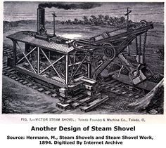 Victor Steam Shovel picture from catalog.