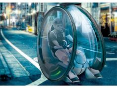 Ultra Small Footprint, concept car by Alex Langensiepen Futuristic Technology, Futuristic Cars, Technology Gadgets, Soap Box Derby Cars, Design Transport, Tokyo Ville, E Mobility, Flying Vehicles, Future Transportation