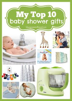 My Top 10 Baby Shower Gifts!