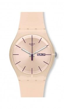 Loving Swatch watches again! Pretty Rose color, too.  Swatch® US - ROSE REBEL - SUOT700