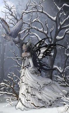 snow owl fairy