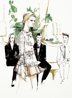 fashion-illustration-for-dolce-gabbana-spring-summer-2014-by-melique-street-gintagabbana