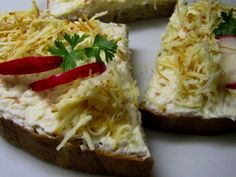 Pomazánka z uzeného sýru Baked Potato, Potatoes, Yummy Food, Meat, Chicken, Baking, Ethnic Recipes, Spreads, Dips