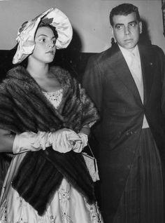 Antonio Ermirio de Moraes e sua esposa Maria Regina em foto de 1958.
