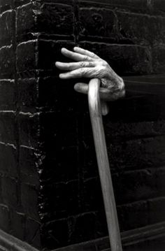 ralph gibson  reminds me of my Nana (@94, after having both knees replaced)  throwing her cane thru the door, before she entered a room, making the statement clear:  ''I can walk just fine''  she outlived her knees.  I admired her so much!