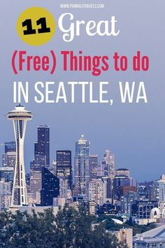 Seattle Asian Art Museum, Seattle Art, Downtown Seattle, Seattle Skyline, Washington Things To Do, Seattle Washington, Washington State, Seattle Vacation, Seattle Travel