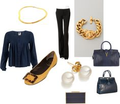 """navy style"" by wendyemery on Polyvore"
