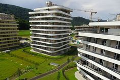 Multi Story Building, Green Life, Graz