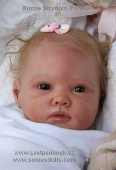 Reborn Baby Doll Porsha.  I thought it was a real baby at first view.  Beautiful!!