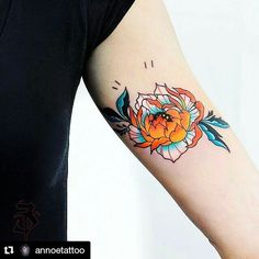 """73 Likes, 3 Comments - LACEnano (@lacenano) on Instagram: """"Lovely tattoo by @annoetattoo  