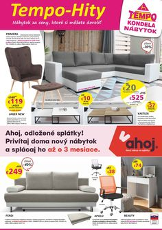 Letak Nabytok Oktober Couch, Furniture, Home Decor, Settee, Decoration Home, Sofa, Room Decor, Home Furnishings, Sofas