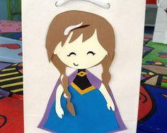sacolinha personalizada Ana - Frozen
