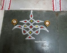 Rangoli Designs Latest, Simple Rangoli Designs Images, Rangoli Designs Flower, Rangoli Border Designs, Rangoli Patterns, Rangoli Ideas, Rangoli Designs Diwali, Rangoli Designs With Dots, Beautiful Rangoli Designs